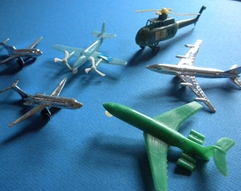 Vintage Plane Ornaments/ Cake Toppers
