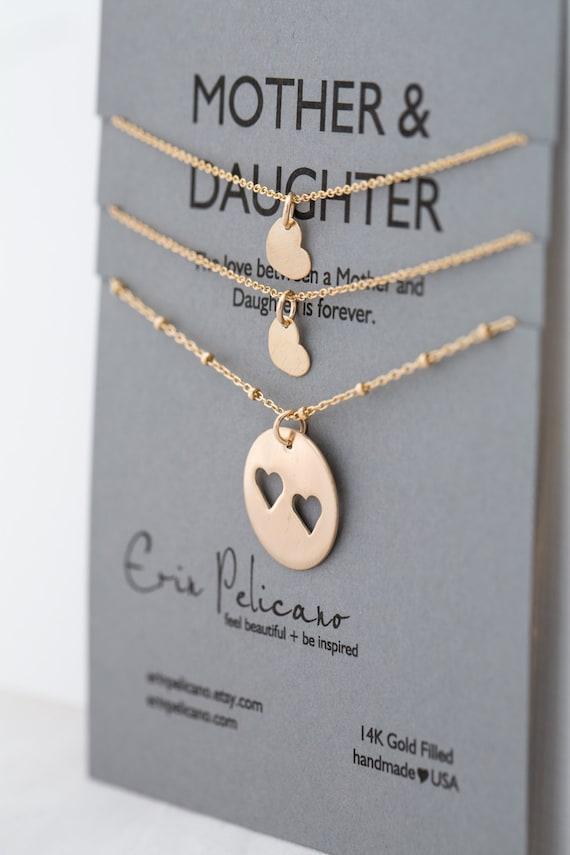 Mutter-Tochter-Ketten Weihnachtsgeschenke für Schwestern | Etsy