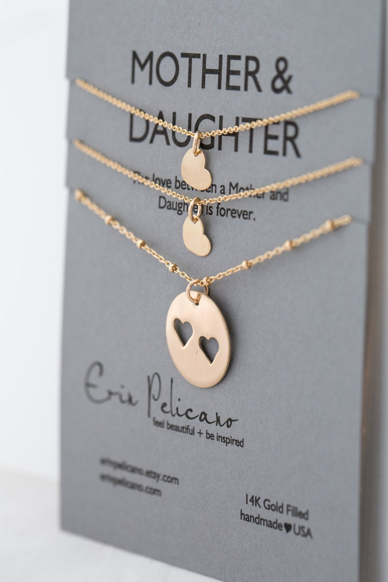 Mother Daughter Necklaces Gifts For Sisters Gift Mom