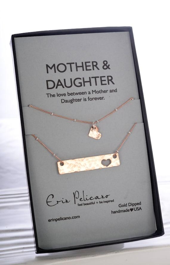 Mutter-Tochter-Kette Set Weihnachtsgeschenke für Mama Rose | Etsy