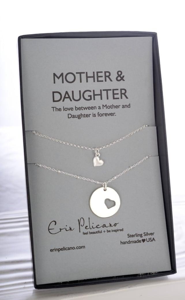 Geschenke für Mama Mutter Tochter Kette Mutter der Braut | Etsy