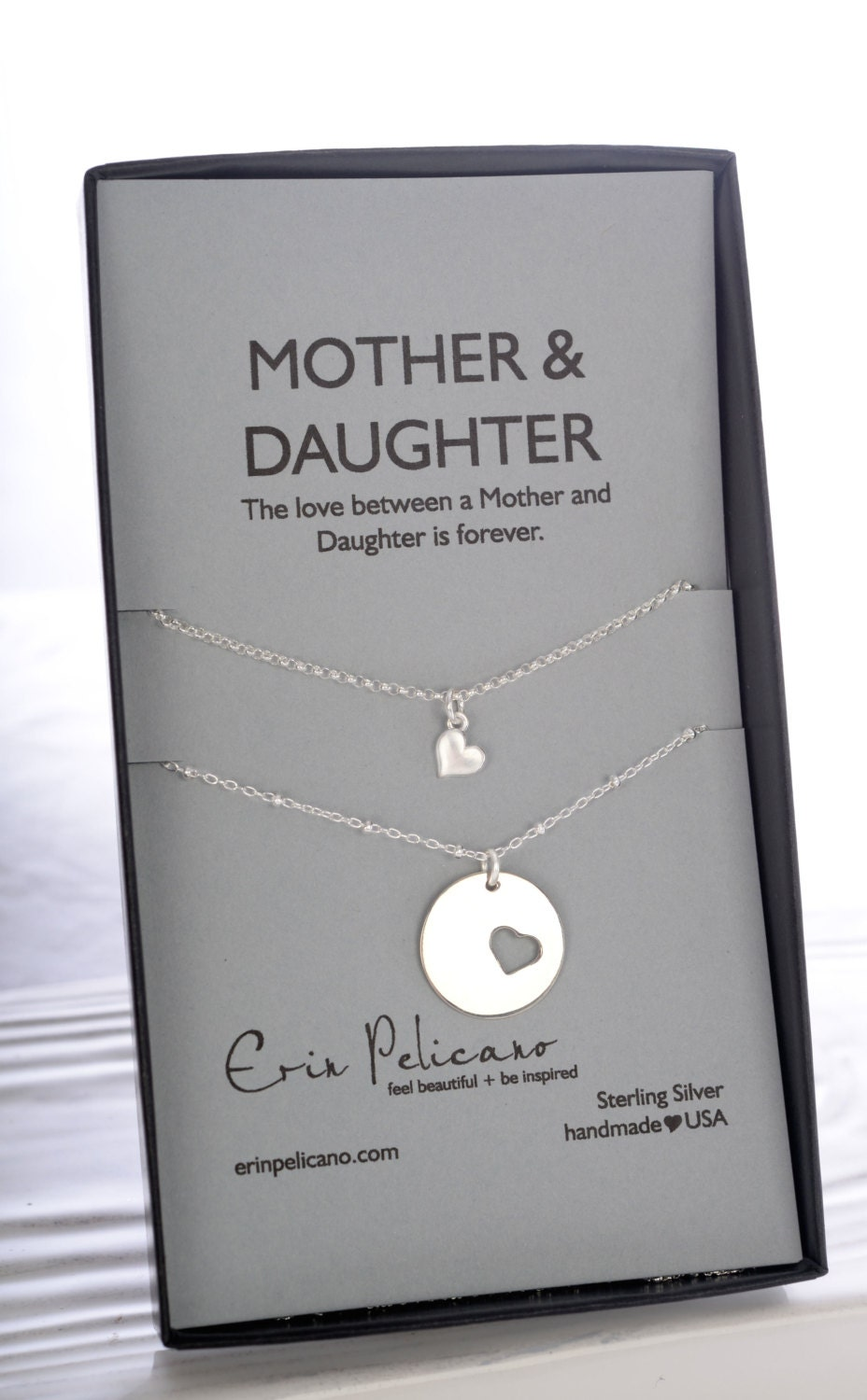 Mom Daughter Jewelry Set Mothers Day Gifts For Mother