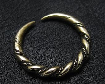 Bronze Viking ring from Gotland