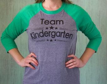 Team Kindergarten Shirt | Kindergarten Teacher Shirt |Toddler Squad Shirt | Infant Squad Shirt | Teacher Shirt | Preschool Teacher Shirt