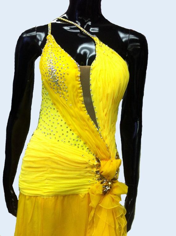 Items similar to Designer Upcycled Dress Spanish Antique