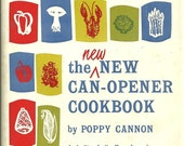 1968 The New Can-Opener Cookbook Vintage Poppy Cannon