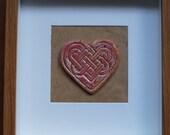 Framed Celtic Heart
