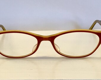 239e4d8818 Vintage Cateye Plastic Frame Glasses