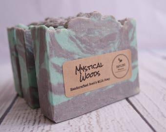 Mystical Woods Goat's Milk Soap - clean fresh scent