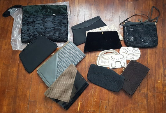 Lot of Vintage Purses, Clutches, Muff, Corde, Bead