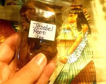 Jezebel Root conjure voodoo wicca hoodoo Jezebel Root Pieces - Witches Apothecary Attract Love Spells Manifest Money Get Tips Raise