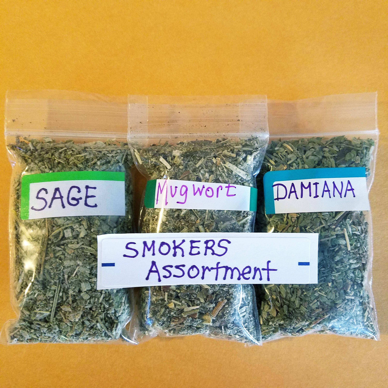 Herbs Smoking Smokers Sample Packs