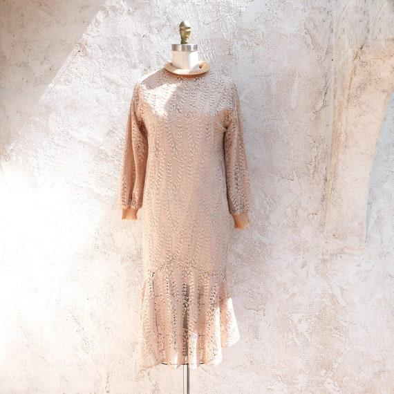 1970s Knit Dress