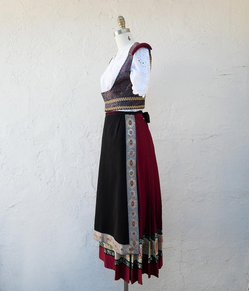 Traditional Costume Vest XS
