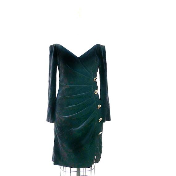 Black Velvet 60s Dress