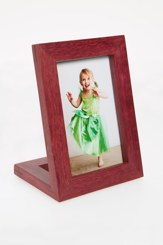 free standing picture frame vertical 4x6 etsy