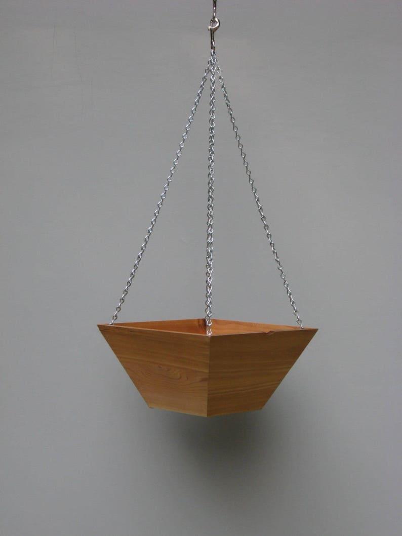4 pack of hanging basket planters image 0