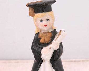 Vintage Ceramic Graduate Figurine