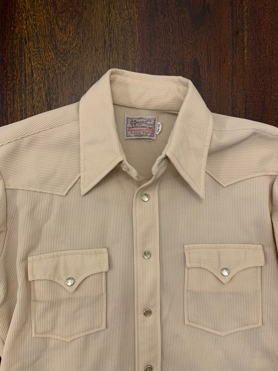 Vintage H Bar C Shirt - Size 15.5 x 32 - image 1