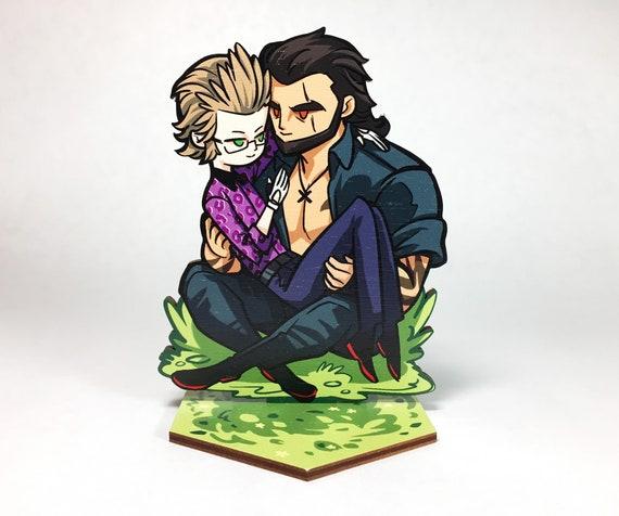 brotherhood final fantasy xv kiss