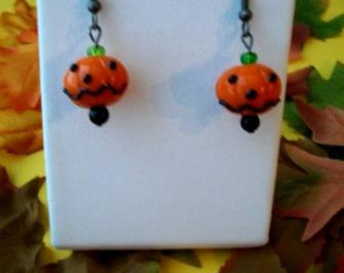 Pumpkinhead Earrings