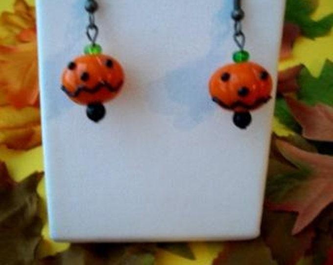 Pumpkinhead Earrings