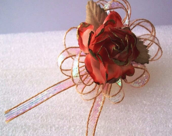 Perfect Little Rose Pin