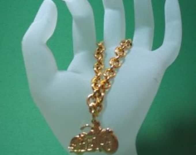 Ride Like the Wind Gold Bracelet