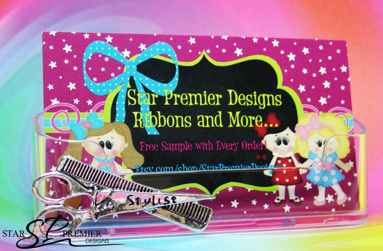 Hairdresser stylist business card holder etsy zoom colourmoves