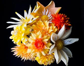 Custom order a bouquet of dahlias or a single dahlia for yourself or someone special