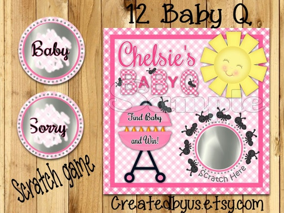 BBQ Baby Shower Guest Book: BabyQ Sign in Book for Babyshower - Cute Baby-Q  Barbecue Picnic Red Gingham Keepsake Memory Book & Visitor Registry w ... -  Name and Address - Square