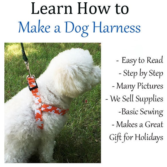 Dog Harness Small Instructions Etsy. Wiring. Homemade Dog Harness Patterns At Scoala.co