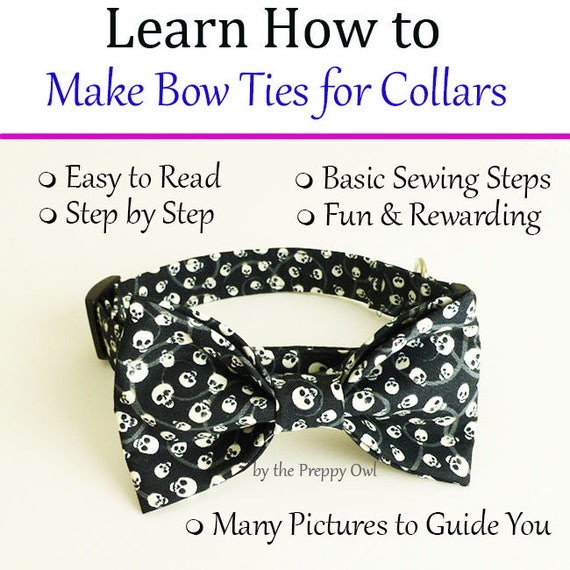 how to make dog bow tie