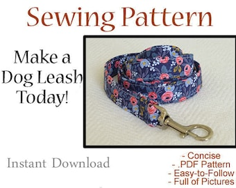 Dog Leash - Instant Download - Instructional Guide Teaching You How to Make Dog Leashes
