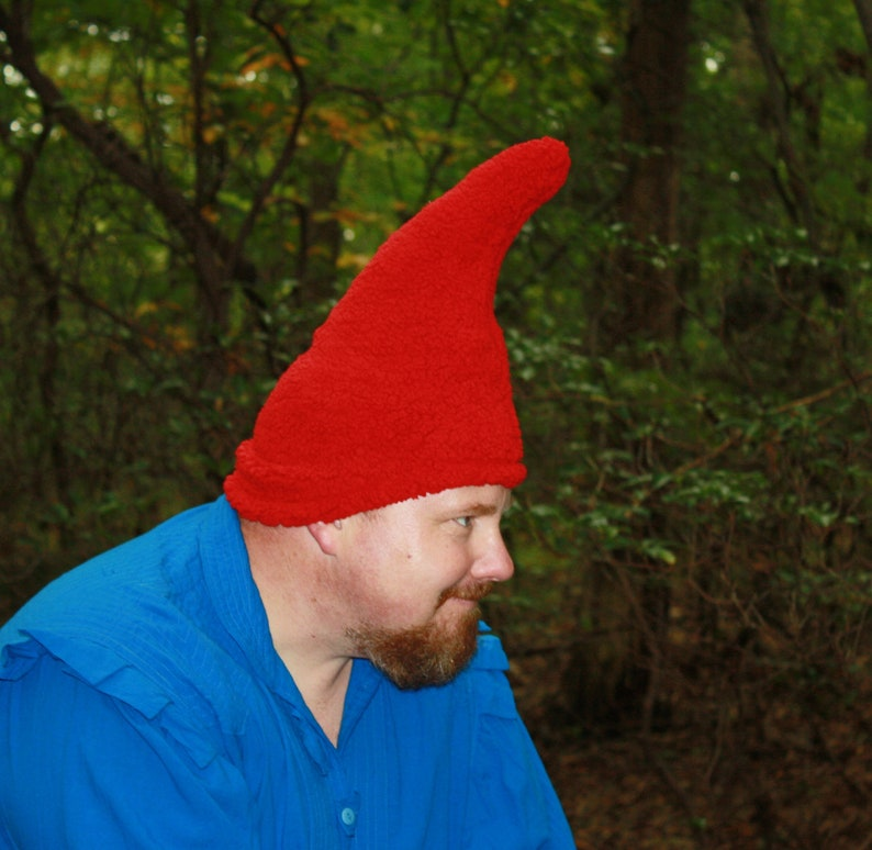 69f6c9de112 Gnome Hat Adult size Ready to ship Red