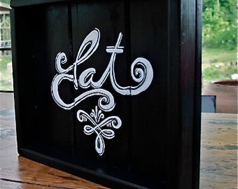 Free Shipping RECLAIMED PAINTED PINE  Rustic  One of a Kind  Serving Tray