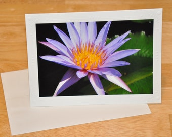 Photo Greeting Card - Tropical Lily
