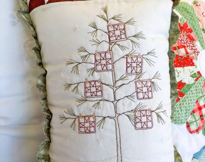 Cozy Quilter's Christmas Tree kit...includes notions, fabrics, threads and pattern designed by Meg Hawkey of Crabapple Hill Studio