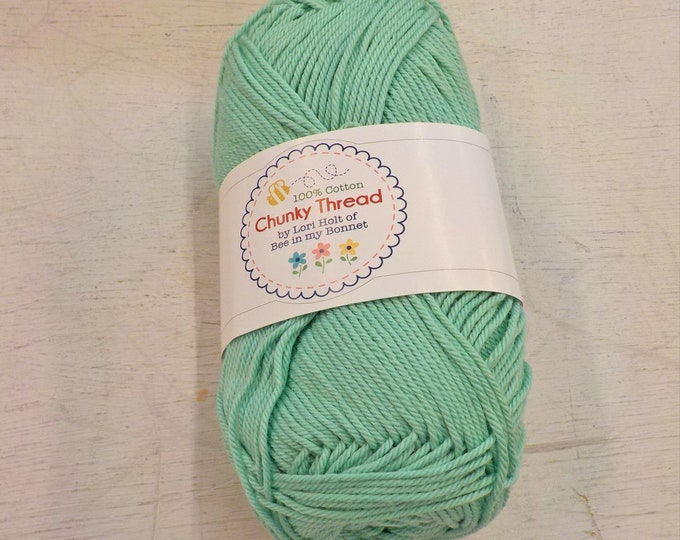 Chunky Thread by Lori Holt of Bee in my Bonnet...breezy, 50 grams, 140 yards, 128 meters