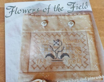 Flowers of the Field by Blackbird Designs...cross-stitch design