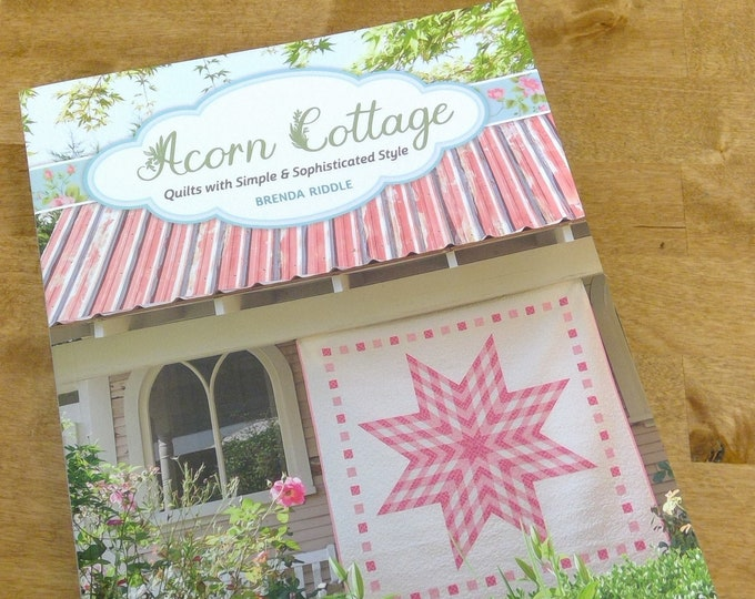 Featured listing image: Acorn Cottage, quilts with simple and sophisticated style, by Brenda Riddle