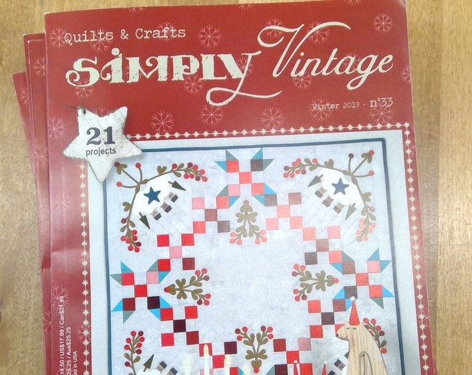 Simply Vintage by Quilt Mania winter 2019 issue