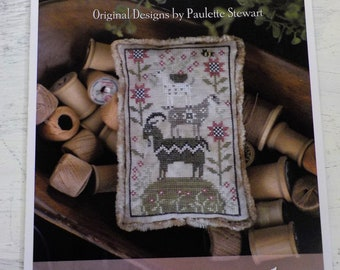 Goat Load by Plum Street Samplers...cross stitch pattern, goat cross stitch