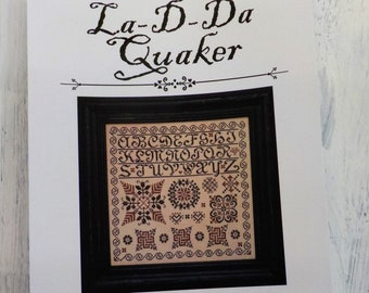 La-D-Da Quaker by La-D-Da...cross stitch pattern