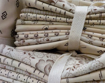Biscotti low volume bundle...10--fat quarters...exclusive grouping