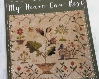 My Heart Can Rest by Blackbird Designs, cross stitch book