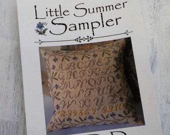 Little Summer Sampler by La-D-Da...cross stitch pattern