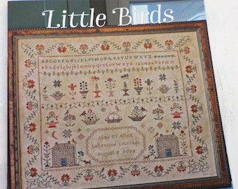 Little Birds by Blackbird Designs, cross stitch booklet