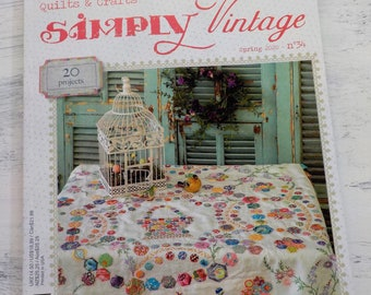 Simply Vintage by Quiltmania spring 2020 issue
