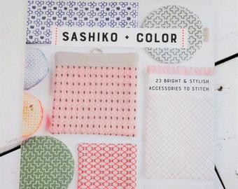 Sashiko + Color by Boutique-Sha Editorial...23 Bright & Stylish Accessories to Stitch